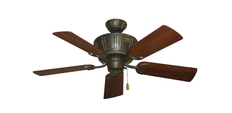 """Picture of Centurion Oil Rubbed Bronze with 44"""" Walnut Blades"""