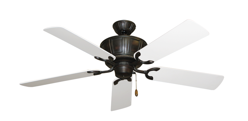 "Picture of Centurion Oil Rubbed Bronze with 60"" Pure White Blades"