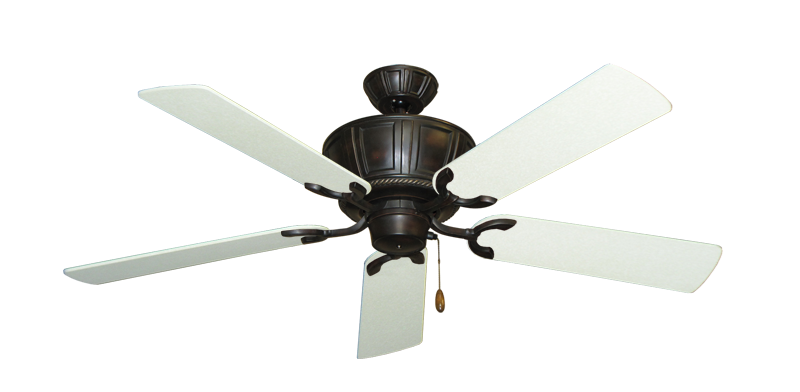 "Picture of Centurion Oil Rubbed Bronze with 52"" Navajo White Blades"