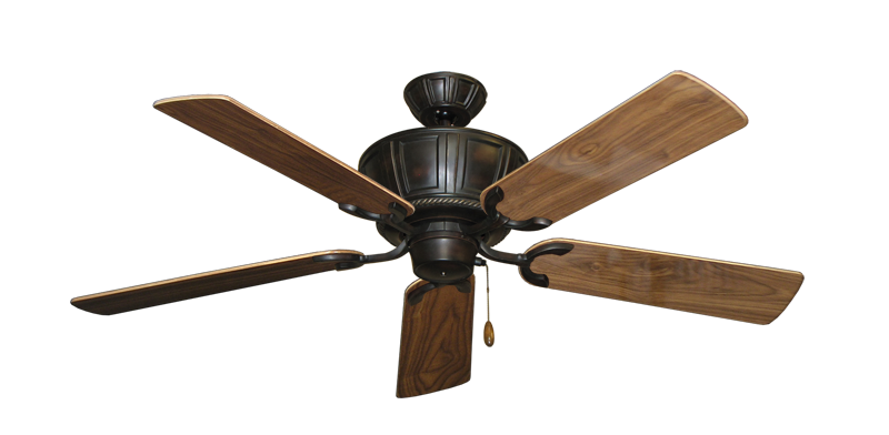 """Picture of Centurion Oil Rubbed Bronze with 52"""" Walnut Gloss Blades"""