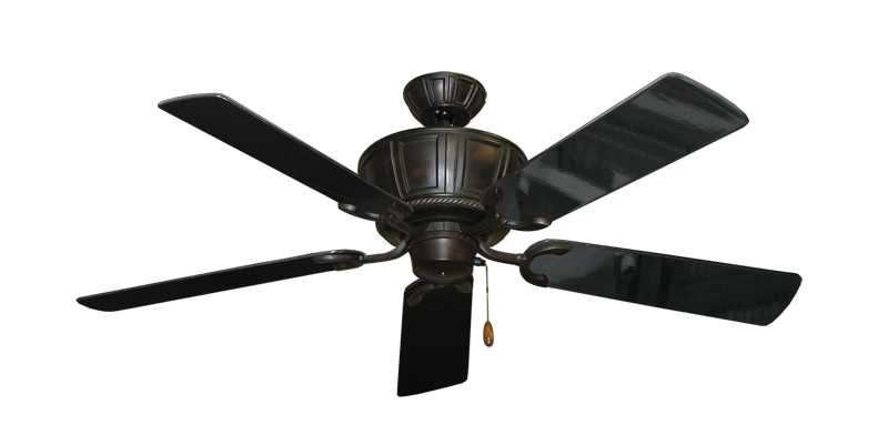 """Picture of Centurion Oil Rubbed Bronze with 52"""" Black Gloss Blades"""