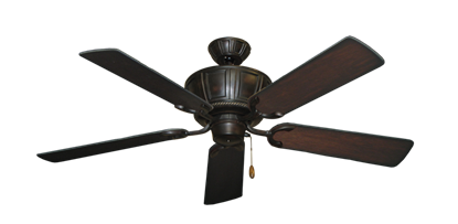 """Picture of Centurion Oil Rubbed Bronze with 52"""" Distressed Cherry Blades"""