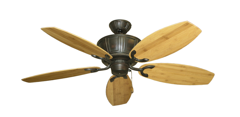 """Picture of Centurion Oil Rubbed Bronze with 52"""" Oar Bamboo Brown Blades"""