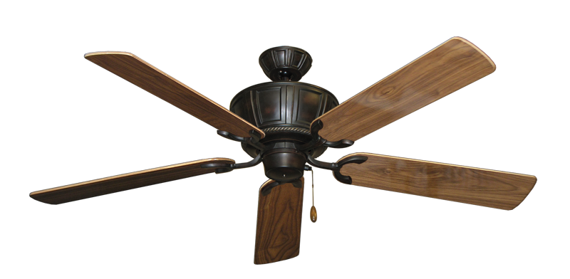 "Picture of Centurion Oil Rubbed Bronze with 56"" Walnut Gloss Blades"