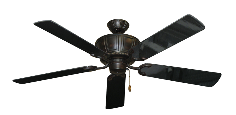 "Picture of Centurion Oil Rubbed Bronze with 56"" Black Gloss Blades"