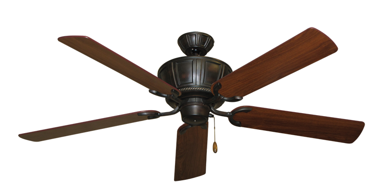 "Picture of Centurion Oil Rubbed Bronze with 56"" Walnut Blades"