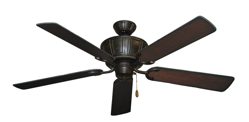 """Picture of Centurion Oil Rubbed Bronze with 56"""" Distressed Cherry Blades"""