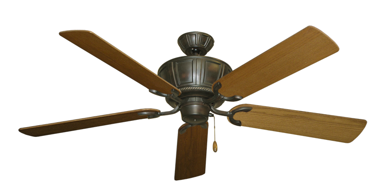 """Picture of Centurion Oil Rubbed Bronze with 56"""" Light Oak Blades"""