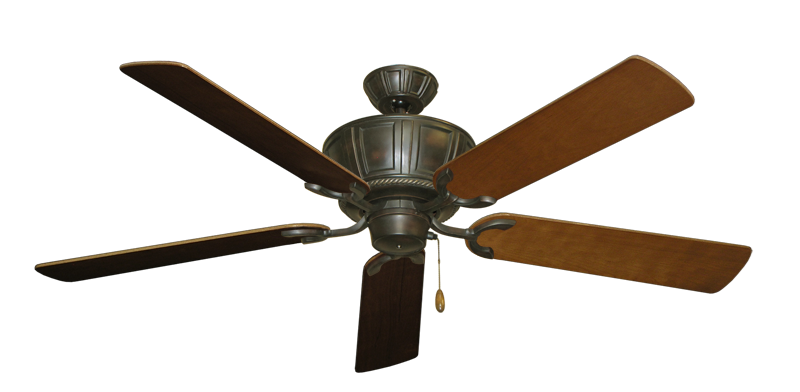 """Picture of Centurion Oil Rubbed Bronze with 56"""" Natural Cherry Blades"""