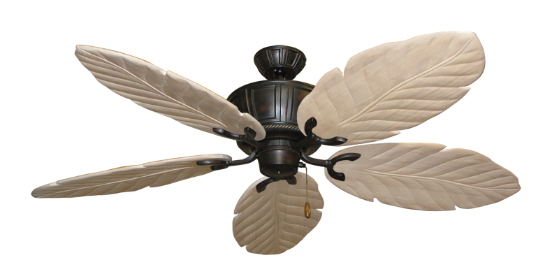 "Picture of Centurion Oil Rubbed Bronze with 58"" Series 100 Arbor Whitewash Blades"