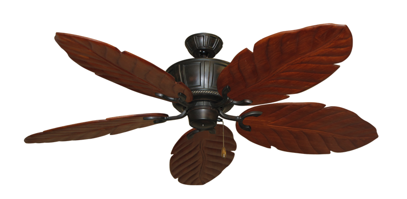 """Picture of Centurion Oil Rubbed Bronze with 58"""" Series 100 Arbor Cherrywood Blades"""