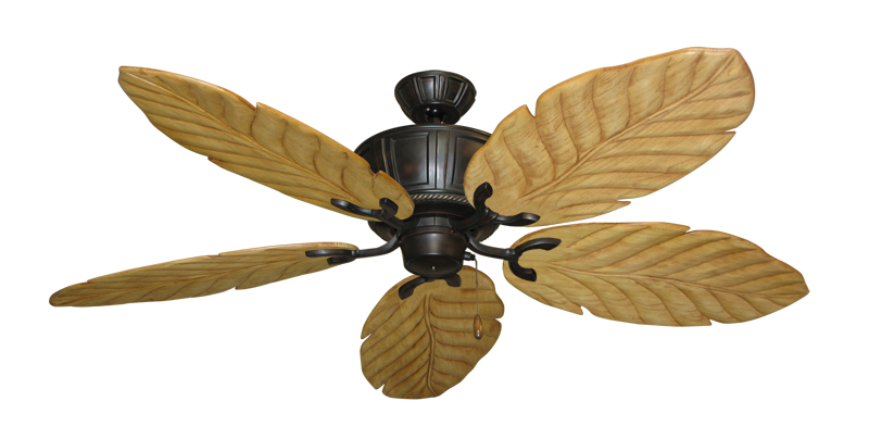 """Picture of Centurion Oil Rubbed Bronze with 58"""" Series 100 Arbor Maple Blades"""