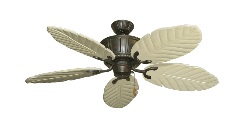 """Picture of Centurion Oil Rubbed Bronze with 52"""" Series 125 Arbor Whitewash Blades"""