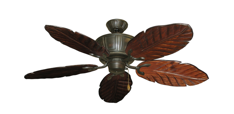 "Picture of Centurion Oil Rubbed Bronze with 52"" Series 125 Arbor Cherrywood Blades"