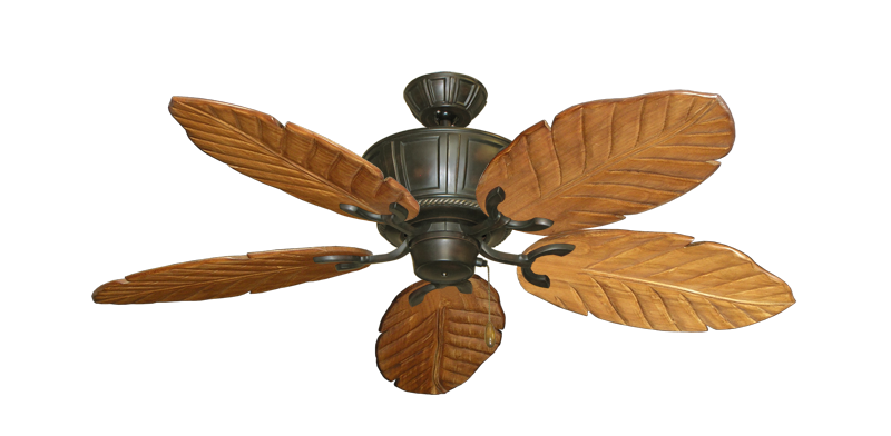 "Picture of Centurion Oil Rubbed Bronze with 52"" Series 125 Arbor Oak Blades"