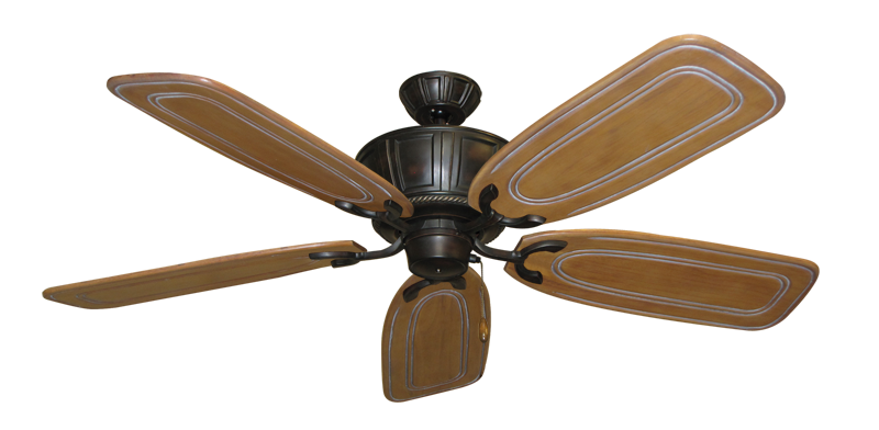 "Picture of Centurion Oil Rubbed Bronze with 58"" Series 800 Arbor Pecan Blades"