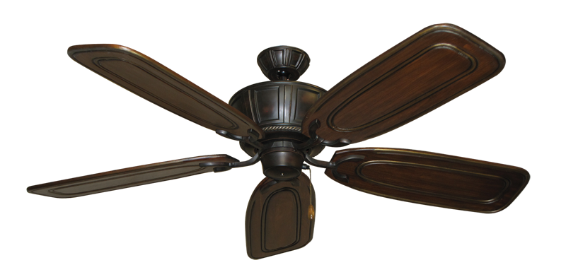 "Picture of Centurion Oil Rubbed Bronze with 58"" Series 800 Arbor Chestnut Blades"