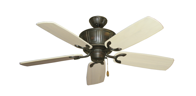 "Picture of Centurion Oil Rubbed Bronze with 52"" Series 425 Arbor Whitewash Blades"