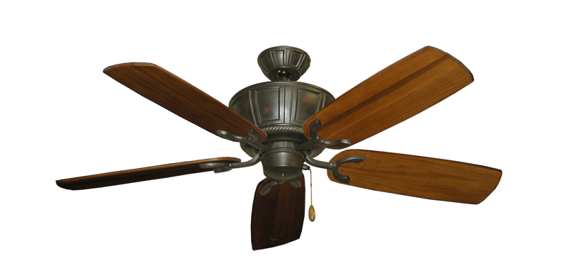 """Picture of Centurion Oil Rubbed Bronze with 52"""" Series 425 Arbor Oak Blades"""