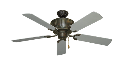 "Picture of Centurion Oil Rubbed Bronze with 52"" Outdoor Brushed Nickel Blades"