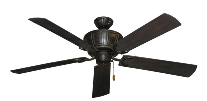 """Centurion Oil Rubbed Bronze with 60"""" Outdoor Oil Rubbed Bronze Blades"""