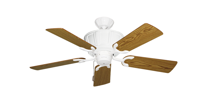 """Picture of Centurion Pure White with 44"""" Oak Blades"""