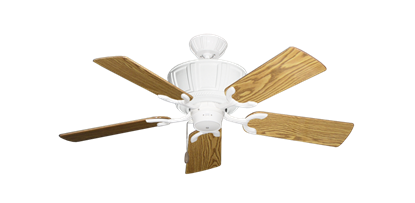 """Picture of Centurion Pure White with 44"""" Oak Gloss Blades"""