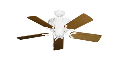 """Picture of Centurion Pure White with 44"""" Light Oak Blades"""