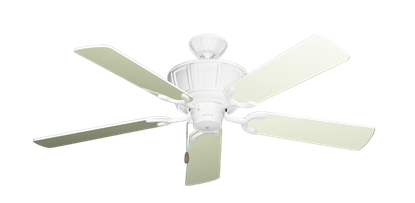 """Picture of Centurion Pure White with 52"""" Antique White Gloss Blades"""