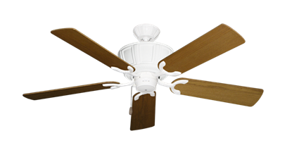 """Picture of Centurion Pure White with 52"""" Light Oak Blades"""