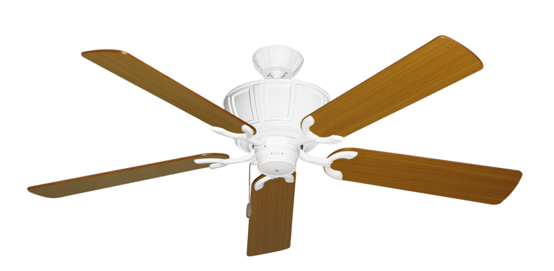 """Picture of Centurion Pure White with 56"""" Teak Blades"""