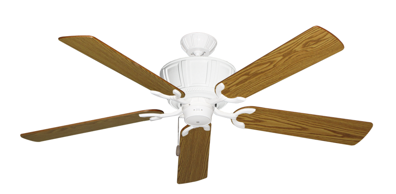 """Picture of Centurion Pure White with 56"""" Oak Blades"""