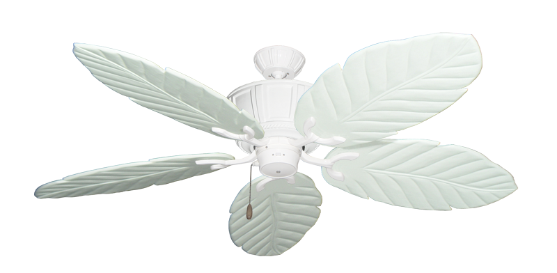 "Picture of Centurion Pure White with 58"" Series 100 Arbor Pure White Blades"