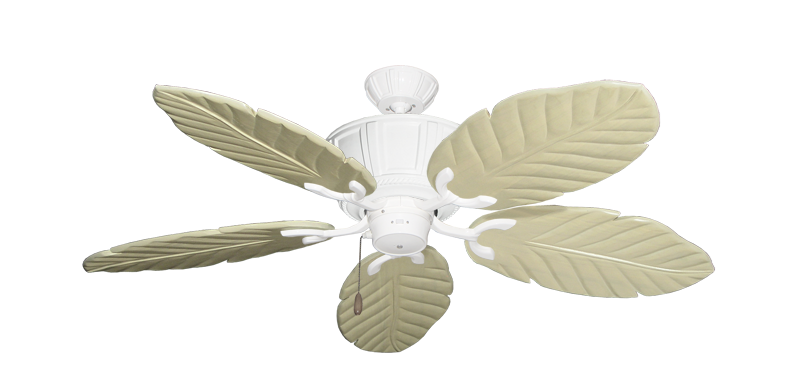 """Picture of Centurion Pure White with 52"""" Series 125 Arbor Whitewash Blades"""