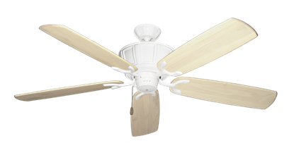 """Picture of Centurion Pure White with 60"""" Series 450 Arbor Whitewash Blades"""