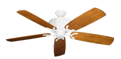 """Picture of Centurion Pure White with 60"""" Series 450 Arbor Oak Blades"""