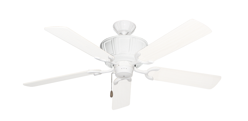 """Picture of Centurion Pure White with 52"""" Outdoor Pure White Blades"""