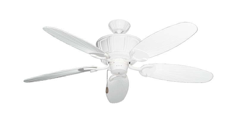 """Picture of Centurion Pure White with 52"""" Outdoor Leaf Pure White Blades"""
