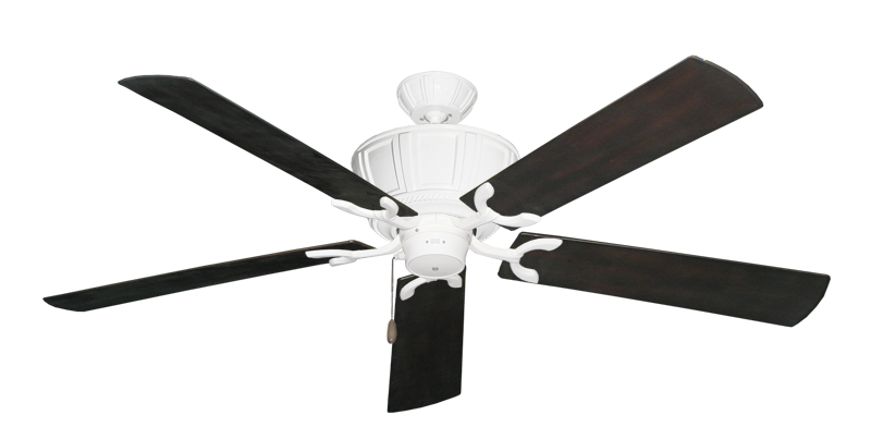"Picture of Centurion Pure White with 60"" Outdoor Oil Rubbed Bronze Blades"