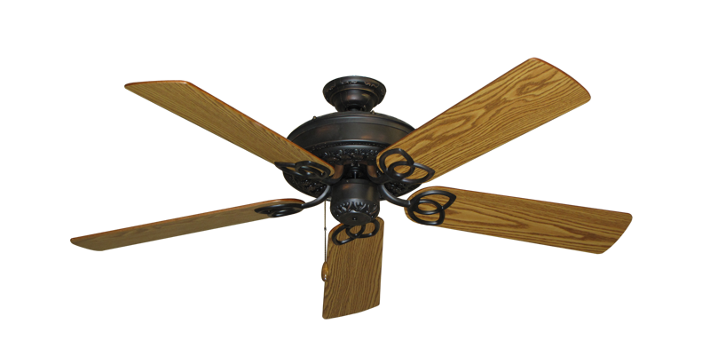 """Picture of Renaissance Oil Rubbed Bronze with 52"""" Oak Blades"""