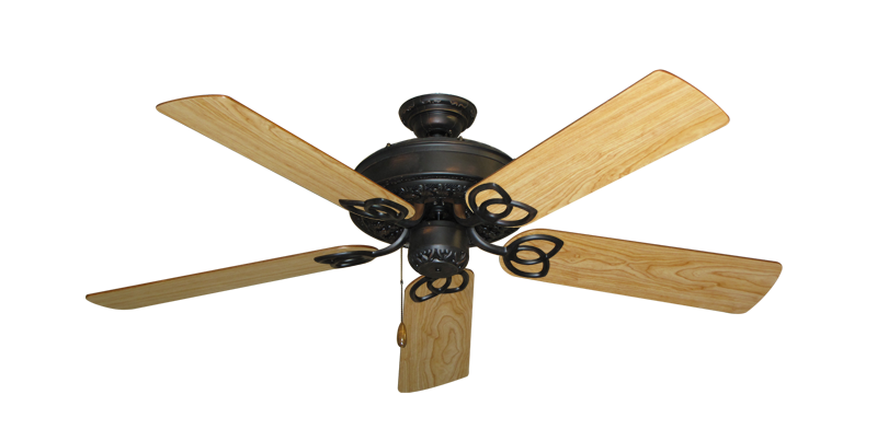"""Picture of Renaissance Oil Rubbed Bronze with 52"""" Maple Blades"""