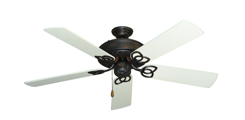 "Picture of Renaissance Oil Rubbed Bronze with 52"" Navajo White Blades"