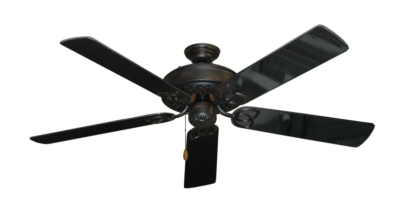 "Picture of Renaissance Oil Rubbed Bronze with 56"" Black Gloss Blades"