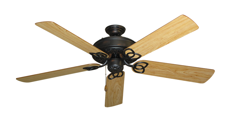 "Picture of Renaissance Oil Rubbed Bronze with 56"" Maple Blades"