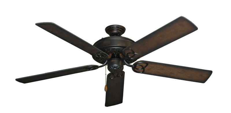 """Picture of Renaissance Oil Rubbed Bronze with 56"""" Distressed Hickory Blades"""