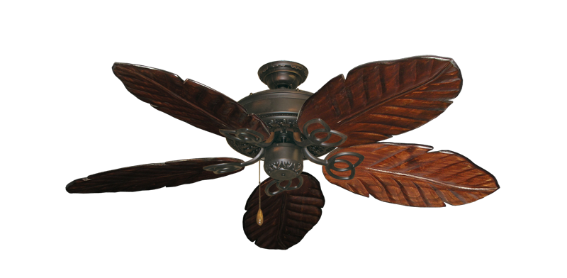 """Picture of Renaissance Oil Rubbed Bronze with 52"""" Series 125 Arbor Cherrywood Blades"""