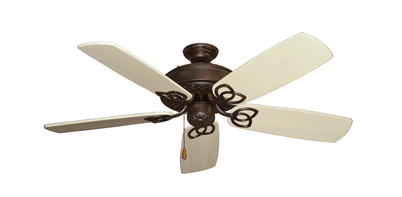 "Picture of Renaissance Oil Rubbed Bronze with 52"" Series 425 Arbor Whitewash Blades"