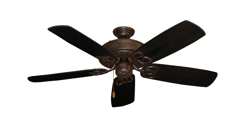 """Picture of Renaissance Oil Rubbed Bronze with 52"""" Series 425 Arbor Dark Walnut Blades"""