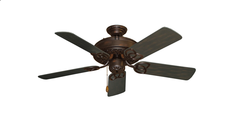 "Picture of Renaissance Oil Rubbed Bronze with 44"" Outdoor Oil Rubbed Bronze Blades"