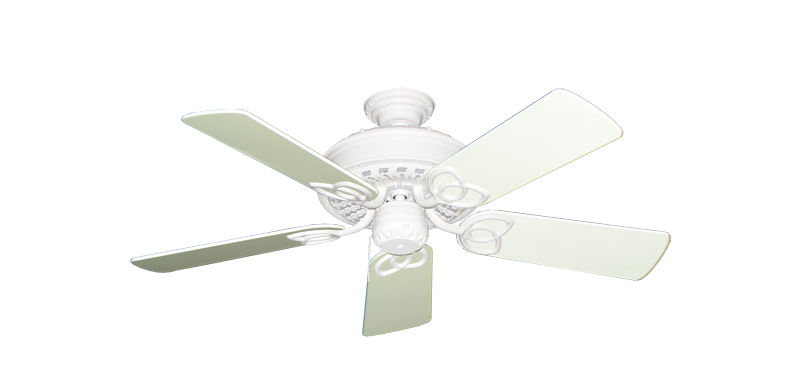 """Picture of Renaissance Pure White with 44"""" Antique White Gloss Blades"""